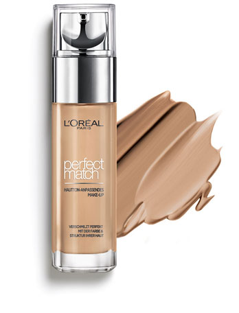 L'oreal perfect Match 7D7W Golden Amber